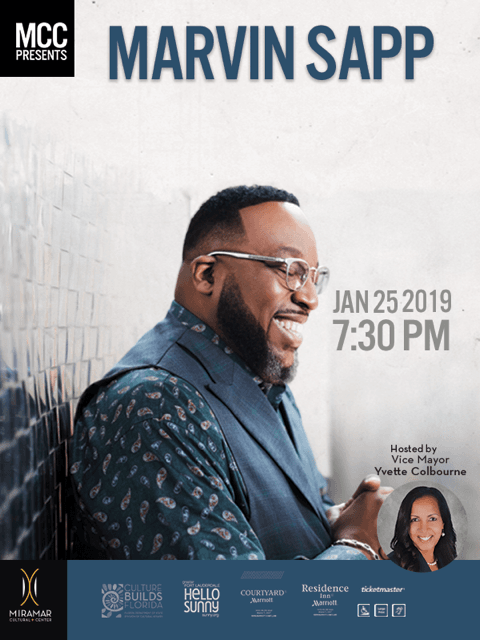 Marvin Sapp VM Host Jan 25 2019