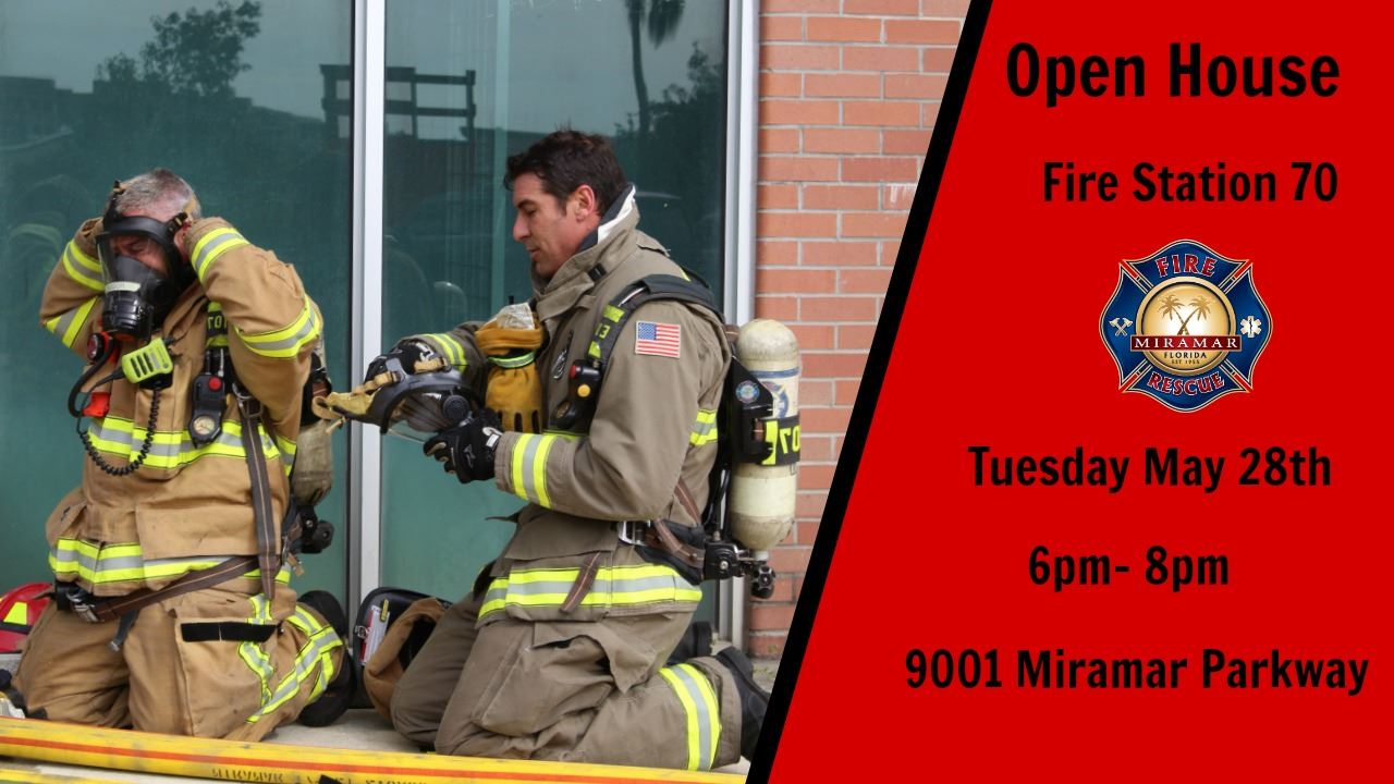 Open House May 28th Station 70