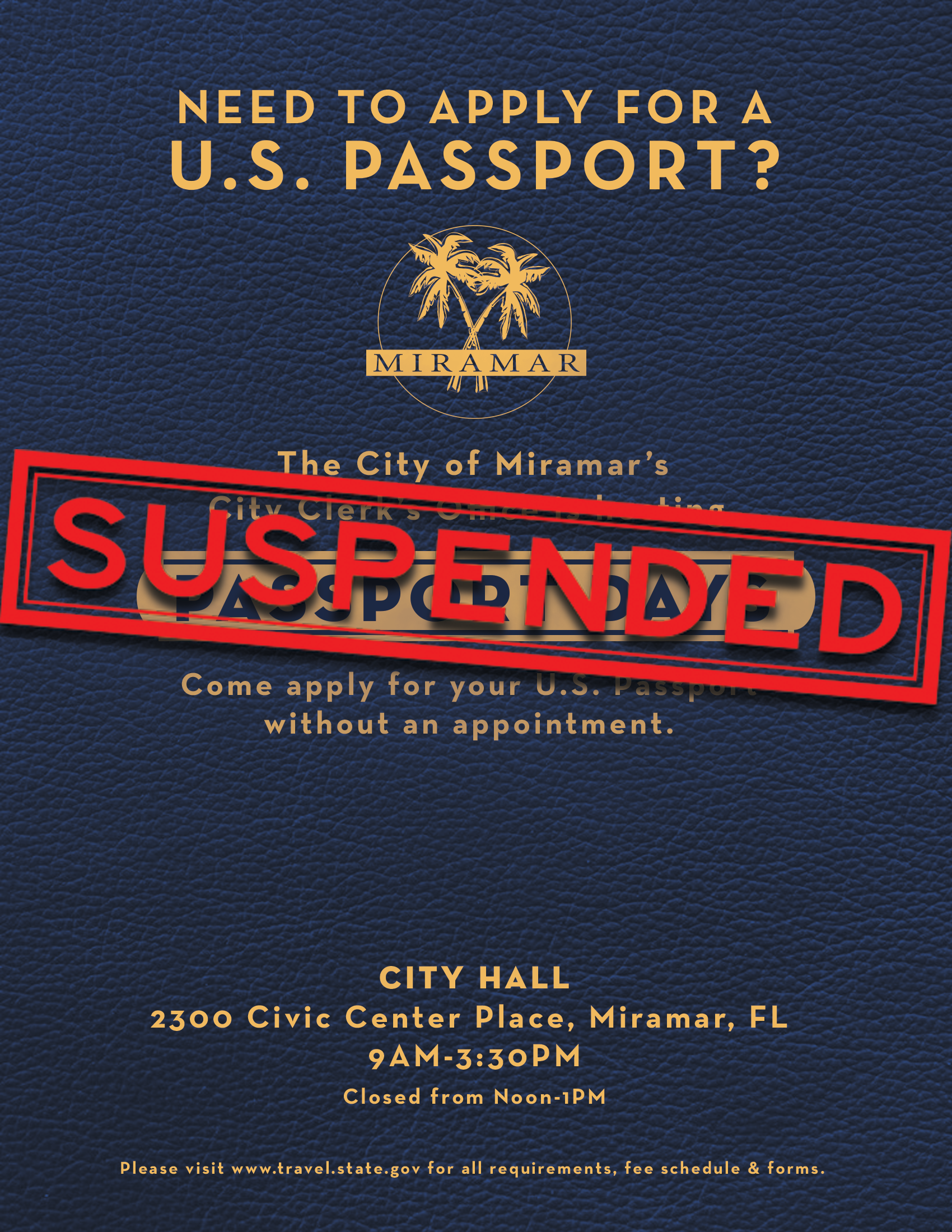 Passport Days Suspended Flyer