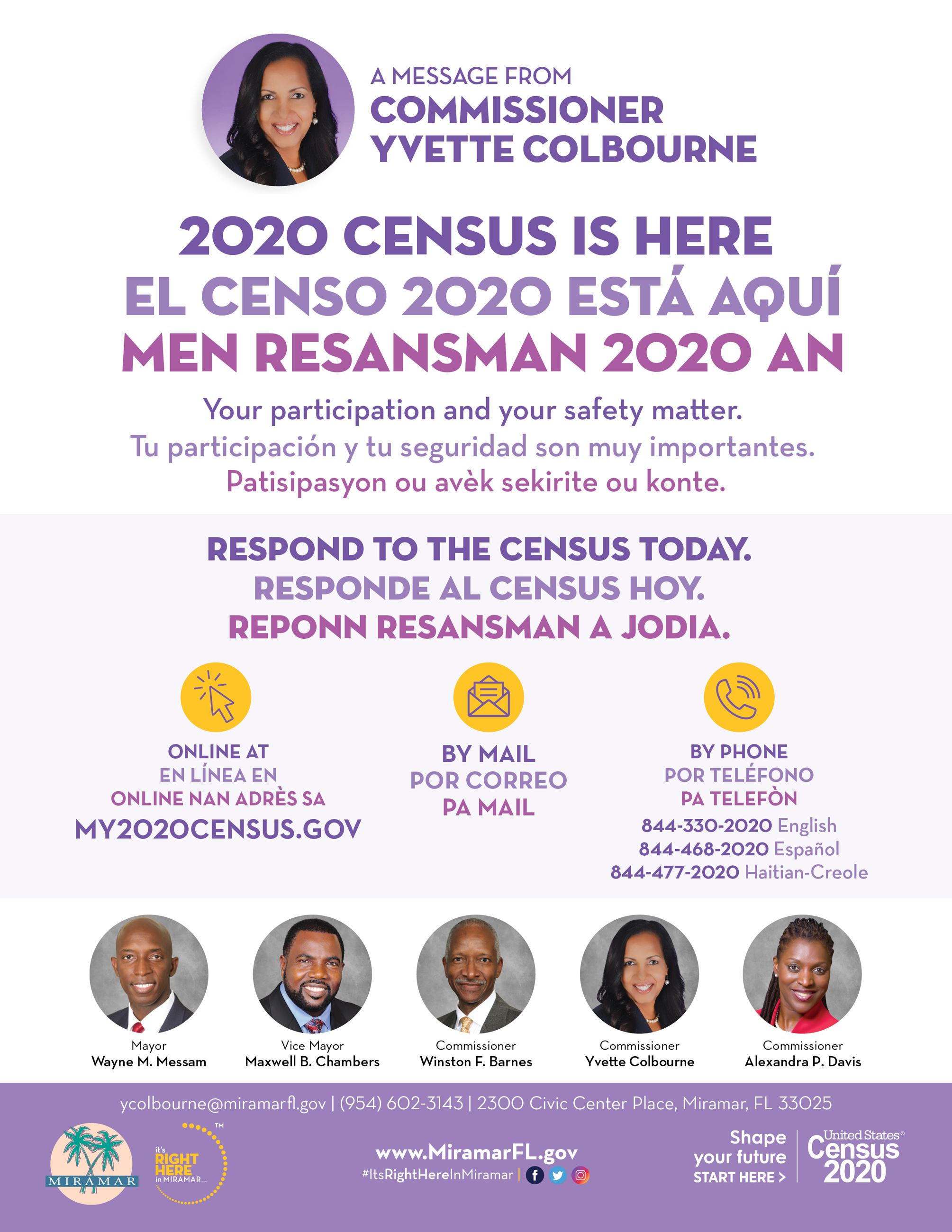 Census is HERE Combo-Flyer