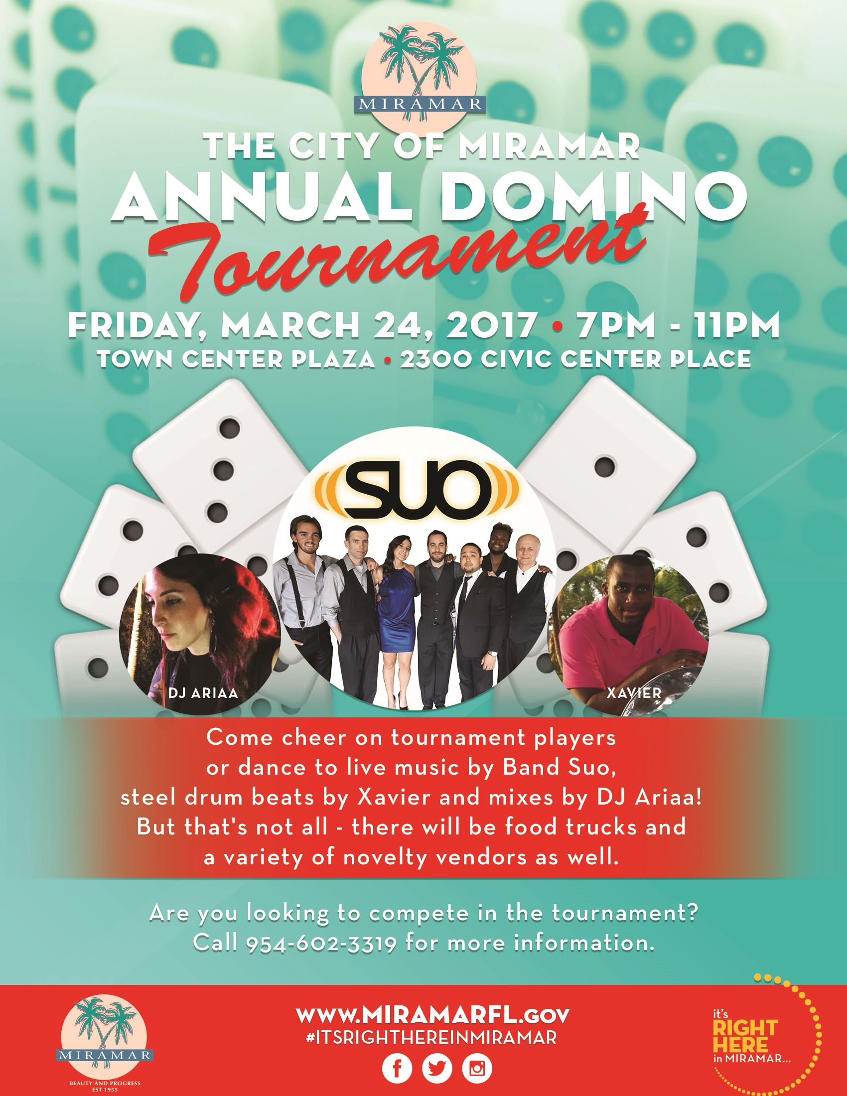 DominoTournament Flyer