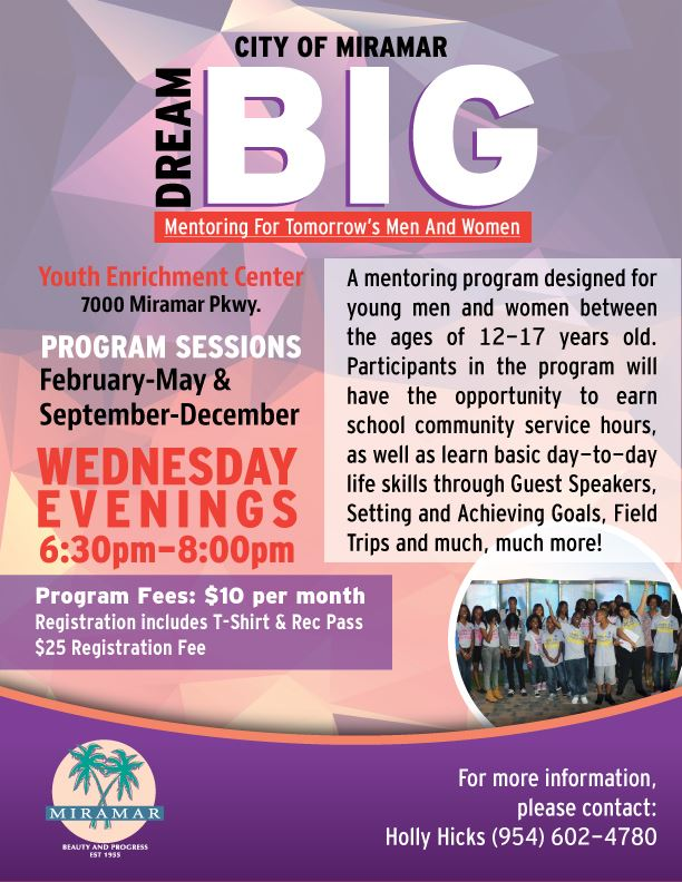 ParksRec_DreamBigMentor_Flyer - Final