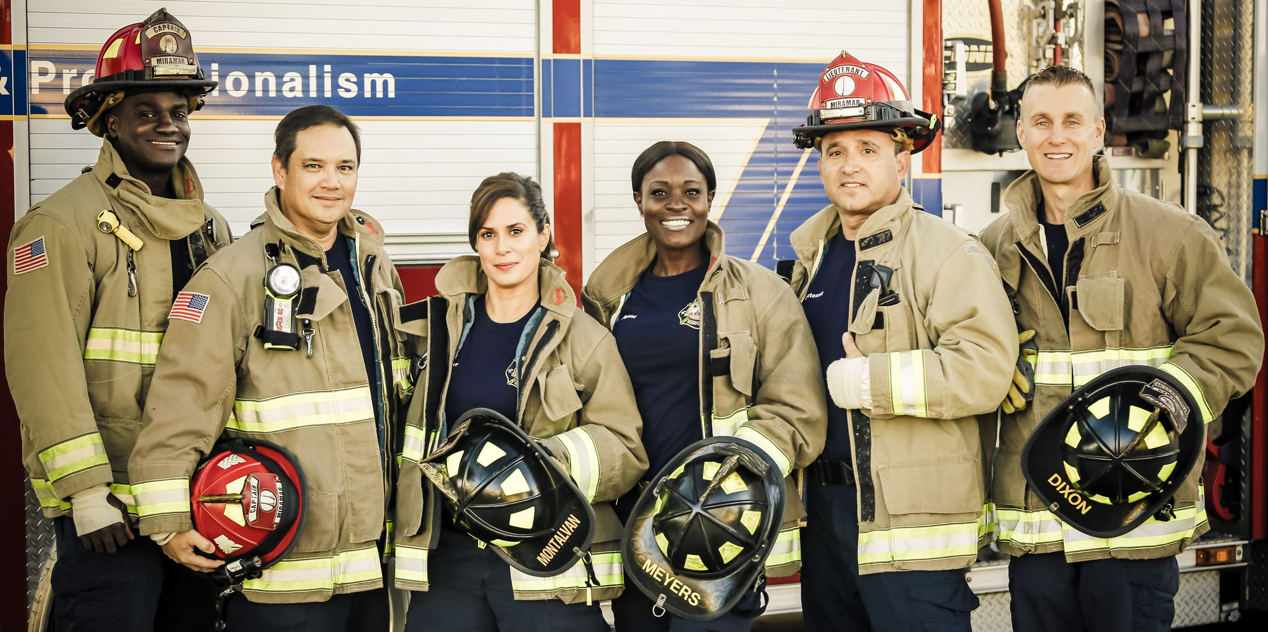 Faces of Miramar Fire-Rescue