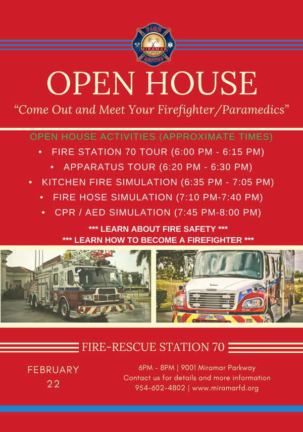 Open House Flyer Station 70